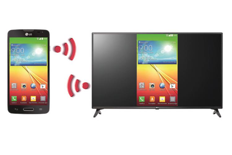 Smart Tivi LG 43 inch Full HD 43LV640S Screen share
