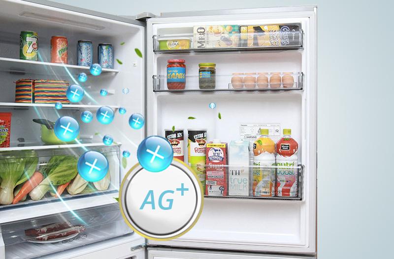 Tủ lạnh Panasonic 363 lít NR-BX418VSVN công nghệ Ag Clean