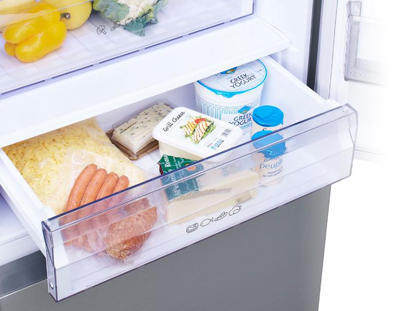 Tủ lạnh Panasonic 363 lít NR-BX418VSVN Ngăn lạnh giữ tươi
