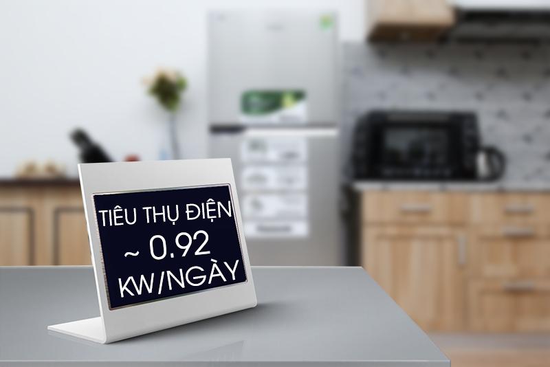 Tủ lạnh Panasonic 363 lít NR-BX418VSVN tiêu thụ diện tiết kiệm