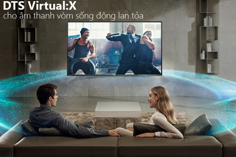 Smart Tivi LG 4K 43 inch 43UK6340PTF Hệ thống âm thanh vòm