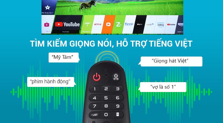 Smart Tivi LG 4K 43 inch 43UK6340PTF remote thông minh
