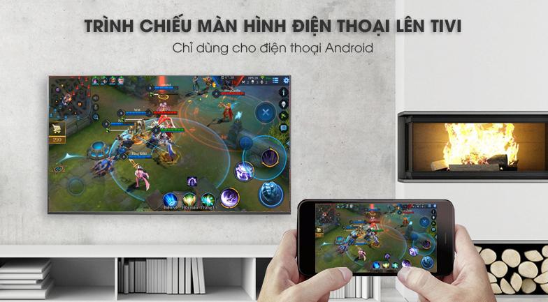 Smart Tivi LG 4K 43 inch 43UK6340PTF trình chiếu màn hình điện thoại