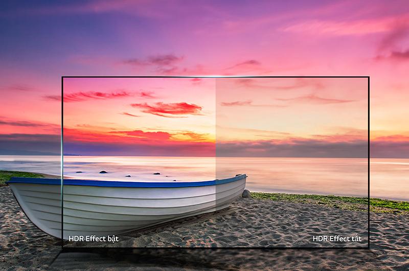 Smart Tivi LG 4K 55 inch 55UK6540PTD Công nghệ Active HDR