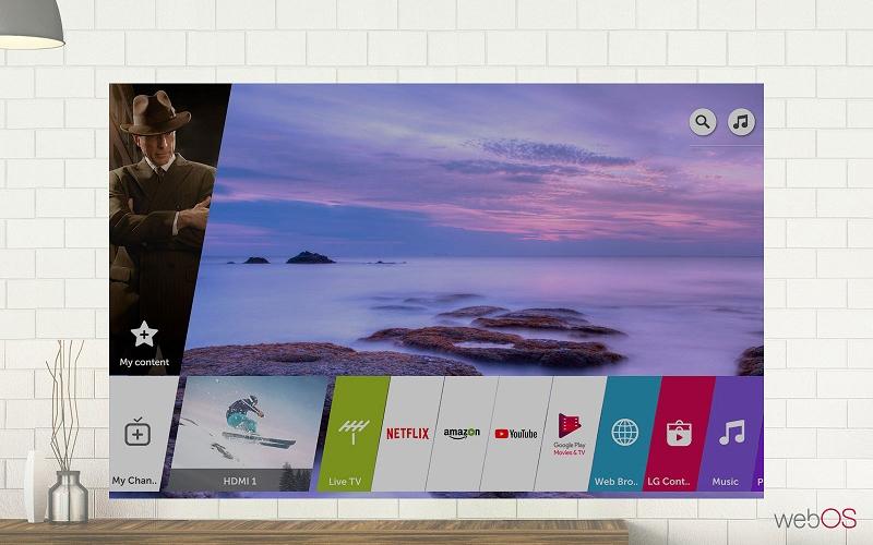 Smart Tivi LG 4K 55 inch 55UK6540PTD hệ điều hành Web OS 4.0