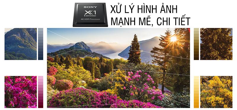 Smart Tivi Sony 4K 85 inch KD-85X9000F Chip X1 mạnh mẽ
