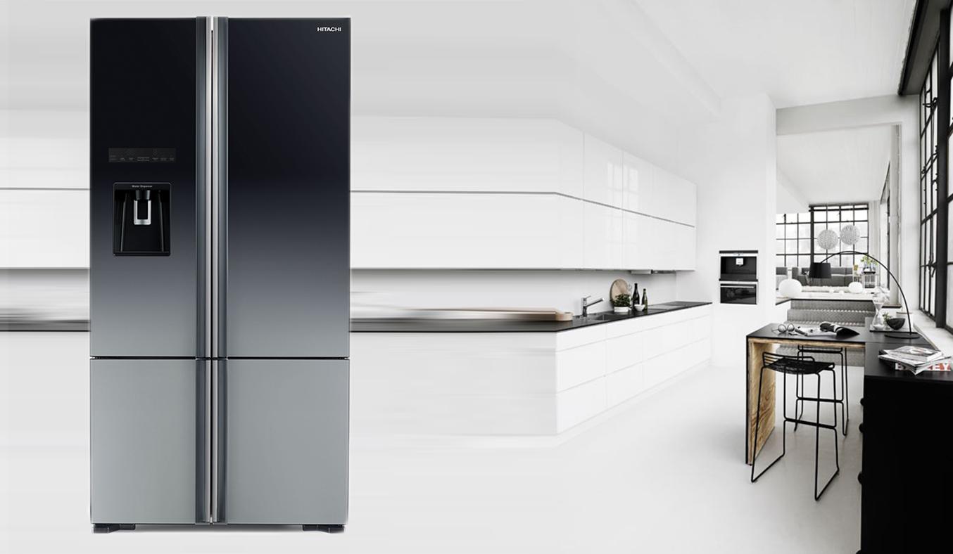 Thiết kế tủ lạnh R-WB730PGV6X (XGR) đẹp sang trọng