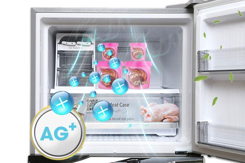 Tủ lạnh Panasonic 405 lít NR-BD468VSVN Khử mùi