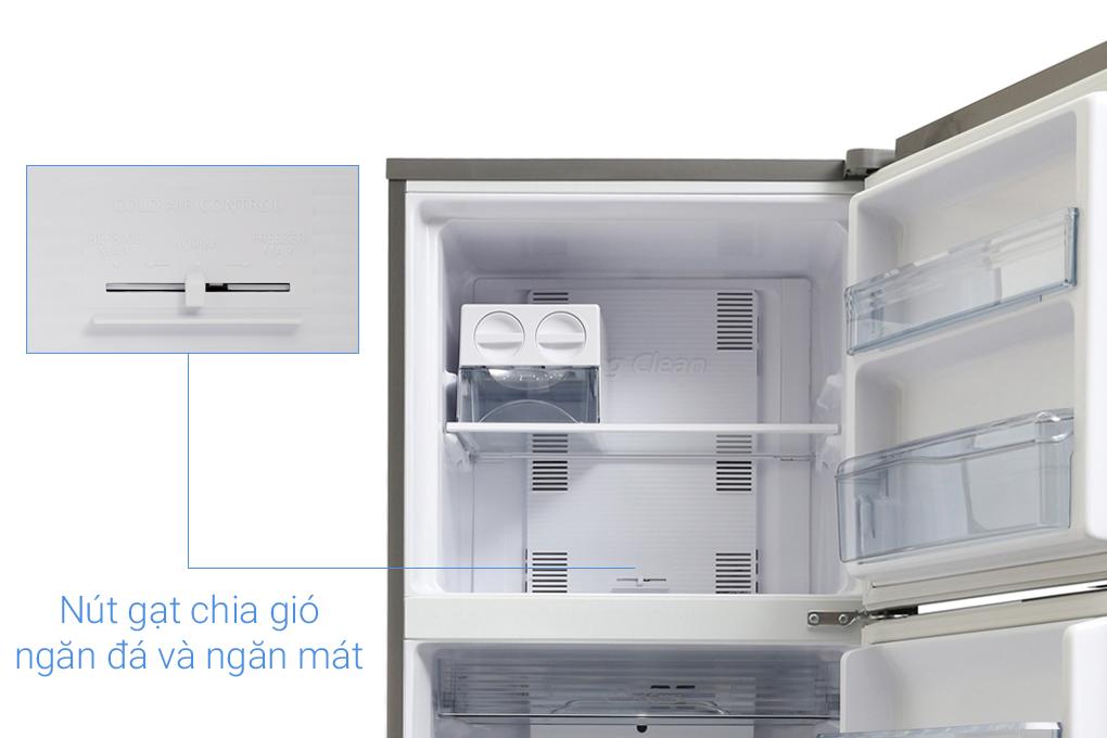 Tủ lạnh Panasonic Inverter 303 lít NR-BL348PSVN Ngăn đá trên tiện dụng