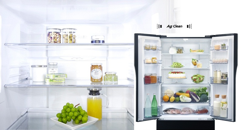 Tủ lạnh Panasonic inverter 491 lít NR-CY558GKVN khử mùi