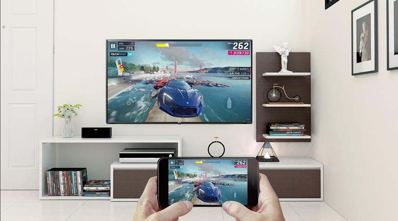 Smart Tivi LG 43 inch 43LK5700PTA Điều khiển tivi bằng điện thoại di động