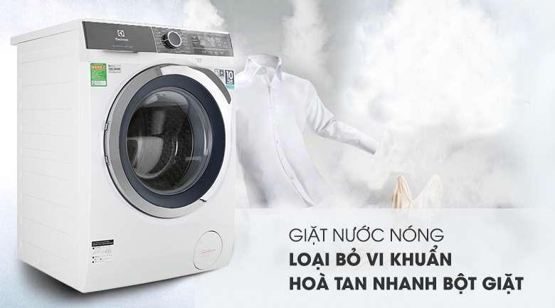 Máy giặt Electrolux Inverter 10 kg EWF1023BEWA - giặt nước nóng loại bỏ vi khuẩn