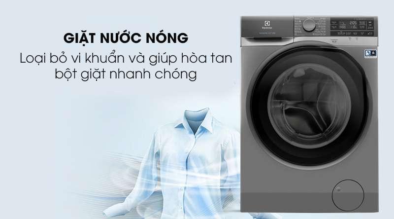 Máy giặt Electrolux Inverter 11 kg EWF1141AESA - giặt nước nóng loại bỏ vi khuẩn