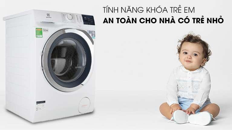 Tính năng khóa trẻ em - Máy giặt Electrolux Inverter 10 kg EWF1024BDWA