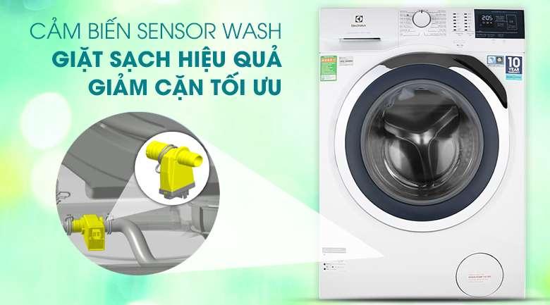Máy giặt Electrolux Inverter 10 kg EWF1024BDWA Mẫu 2019 - Cảm biến Sensor Wash