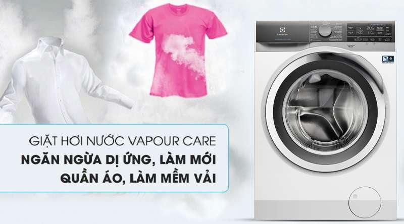 Máy giặt Electrolux Inverter 11 kg EWF1142BEWA - công nghệ hơi nước Vapour Care