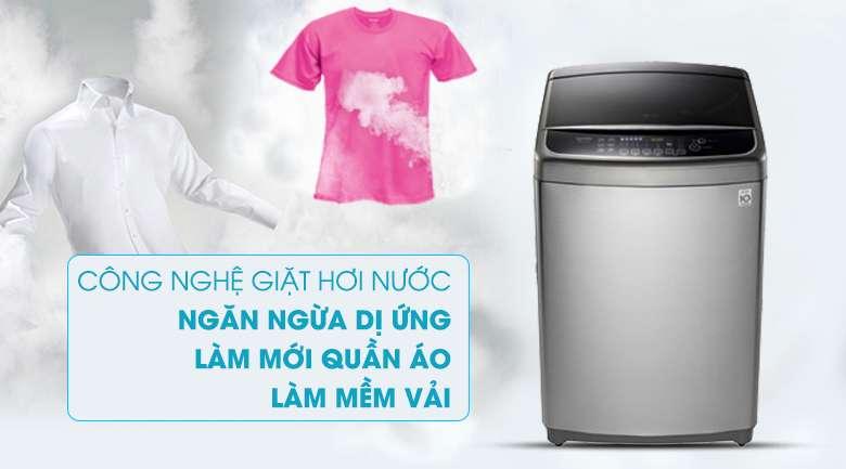 Tính năng hơi nước loại các tác nhân gây dị ứng cho da - Máy giặt LG Inverter 12 kg TH2112SSAV