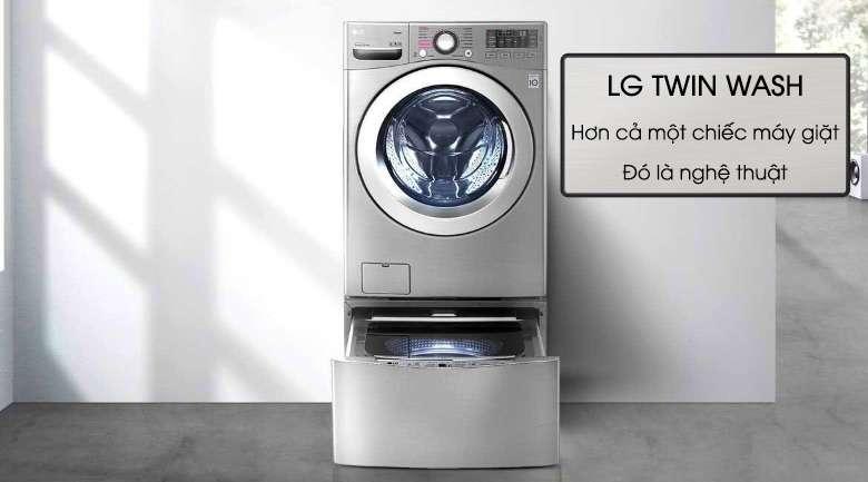 Máy giặt LG Twinwash Inverter F2719SVBVB & T2735NWLV